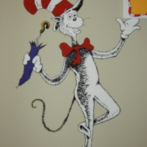 The Cat in the Hat detail