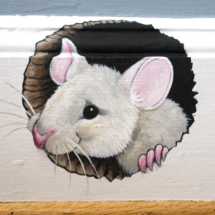 The mouse detail.